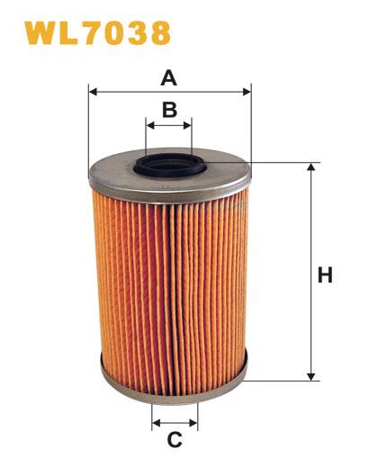 WIX WL7038 Фільтр масляний Filtron OM 517