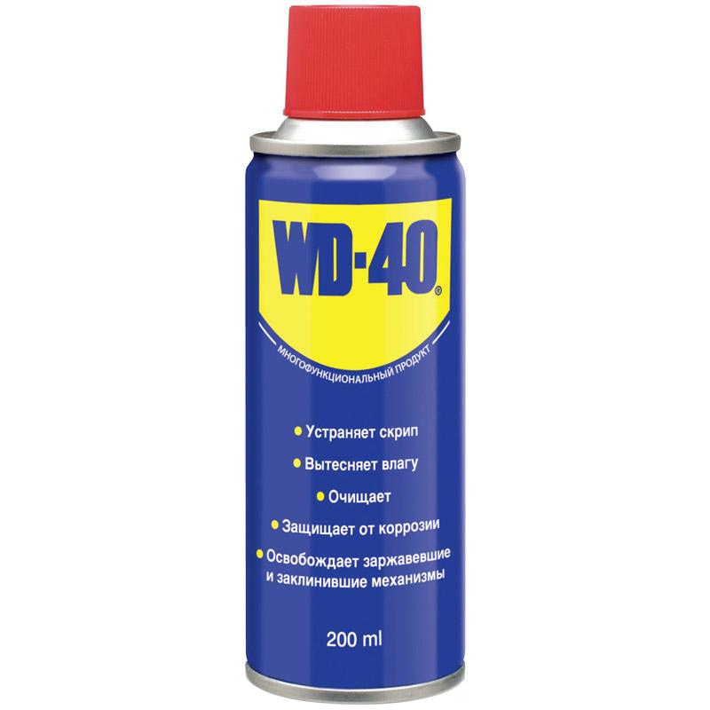 WD-40 200 мл універс. аерозоль