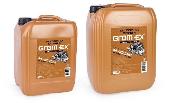 GROM-EX олива М10ДМ (CD SAE30) 10л.