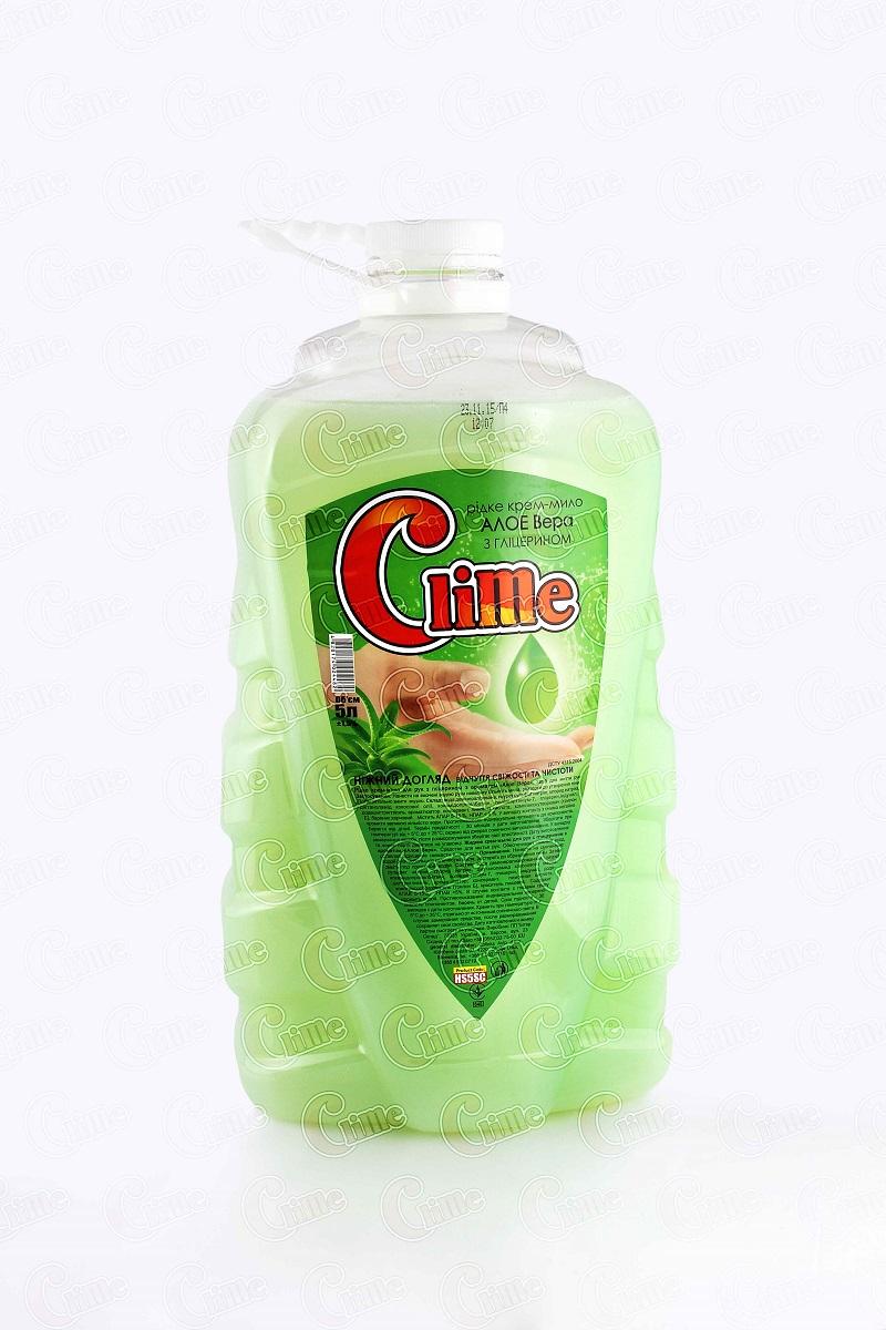 Clime Рідке крем-мило для рук з гліц. 5л Алое HS5SC