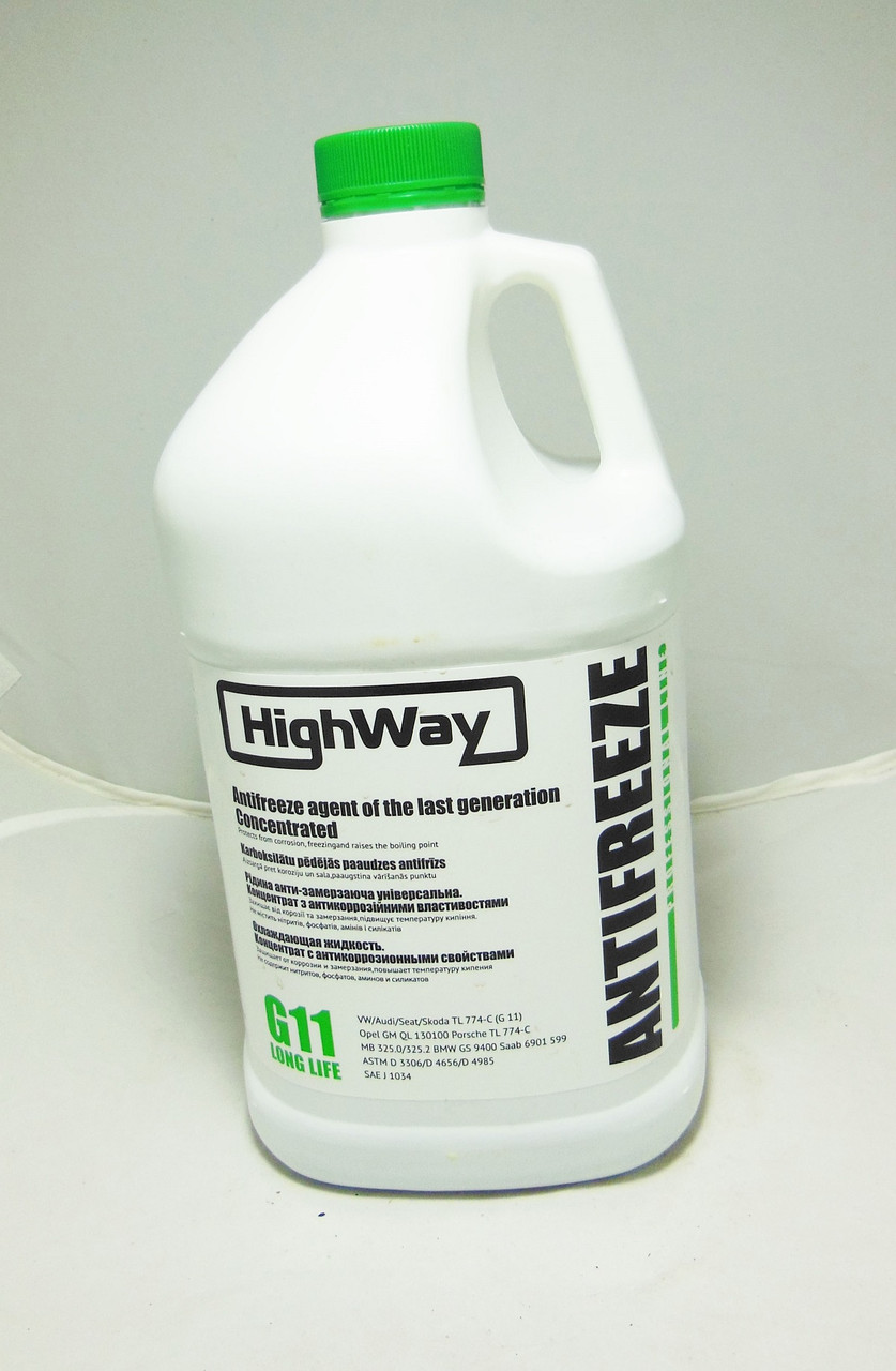 HighWay Антифриз концентрат (зелений) 3,78л