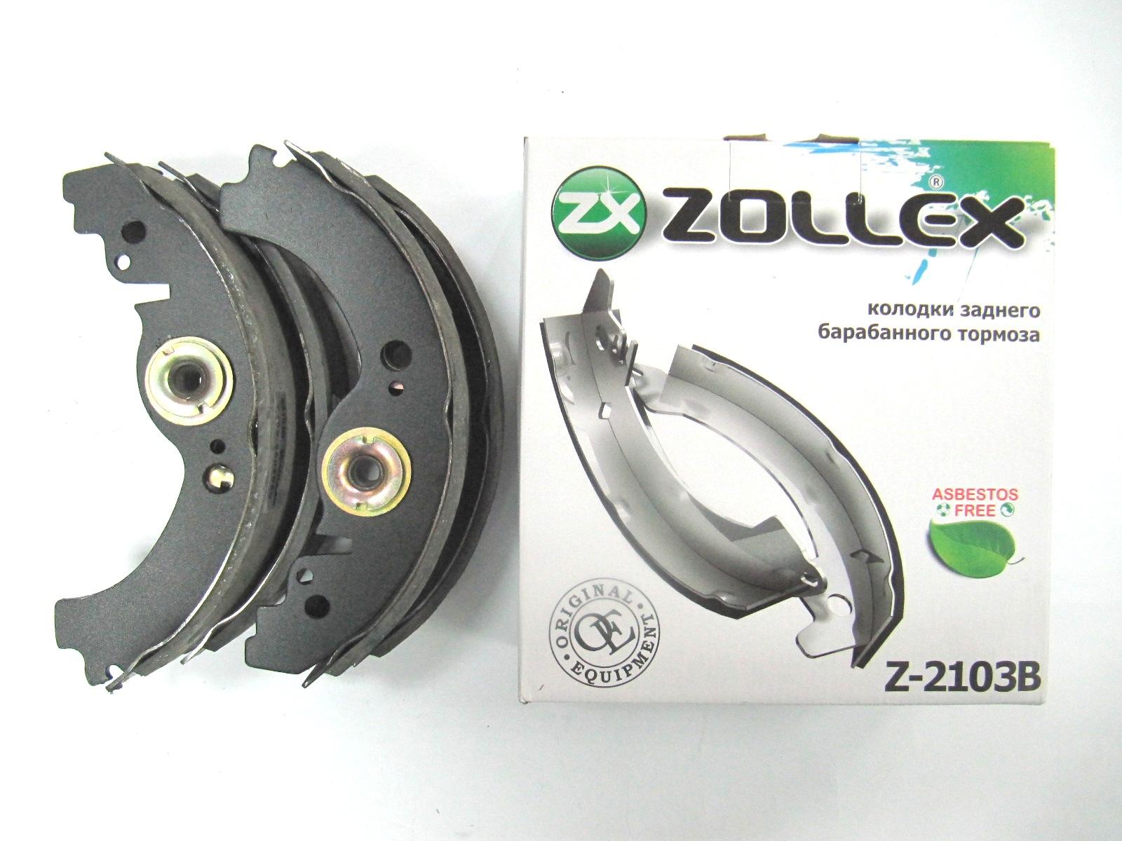 Zollex Гальм. колодки (задні) ВАЗ 2103 Z2103B