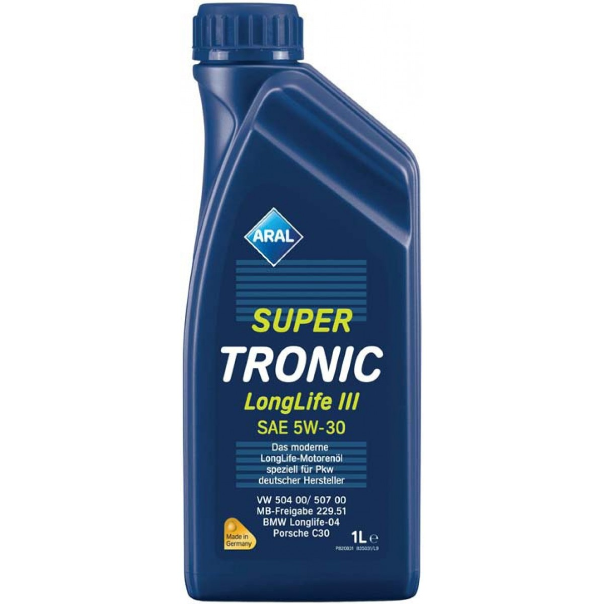 ARAL Масло мот. Super Tronic 5w30 LongLife lll 1л.