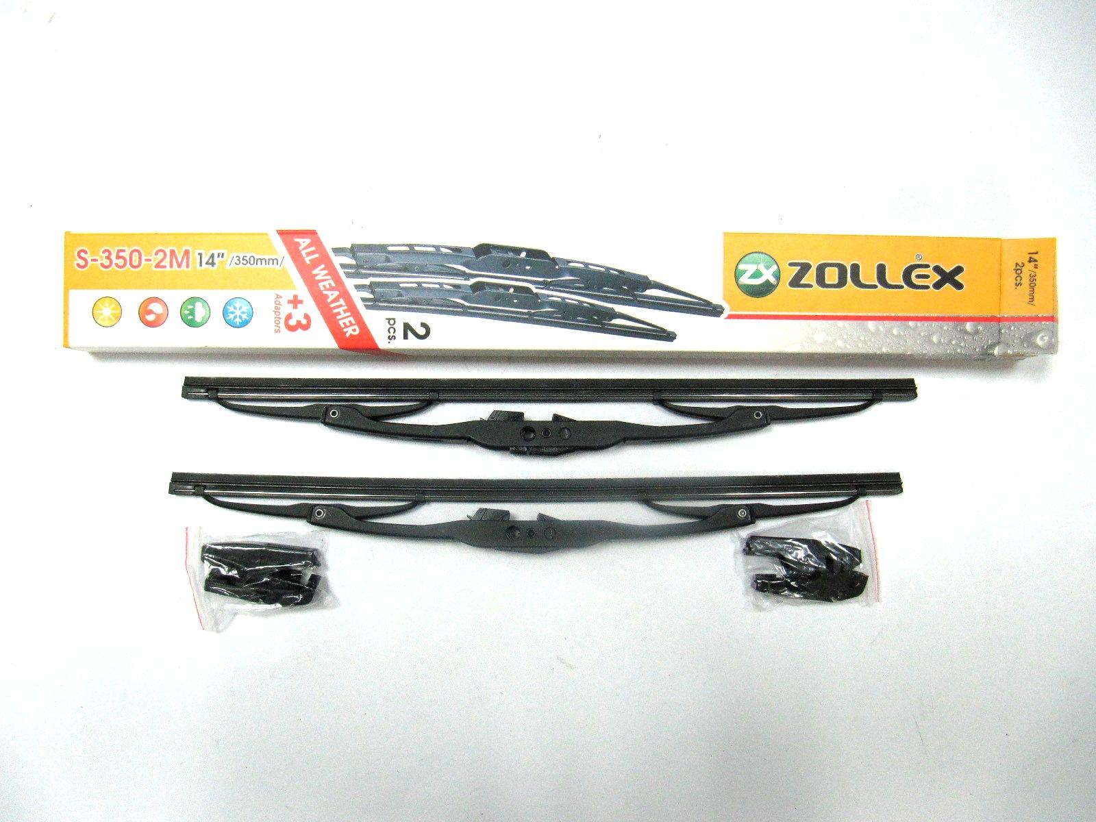 Zollex Щітка склоочисника метал 14&#34 (350 mm) S-350-2M (2шт.)