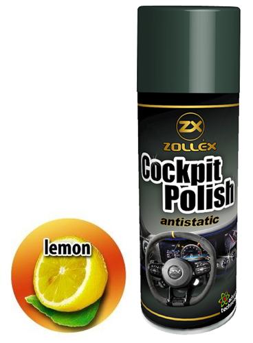 Zollex Поліроль торпеди 750мл лимон LE750 15054