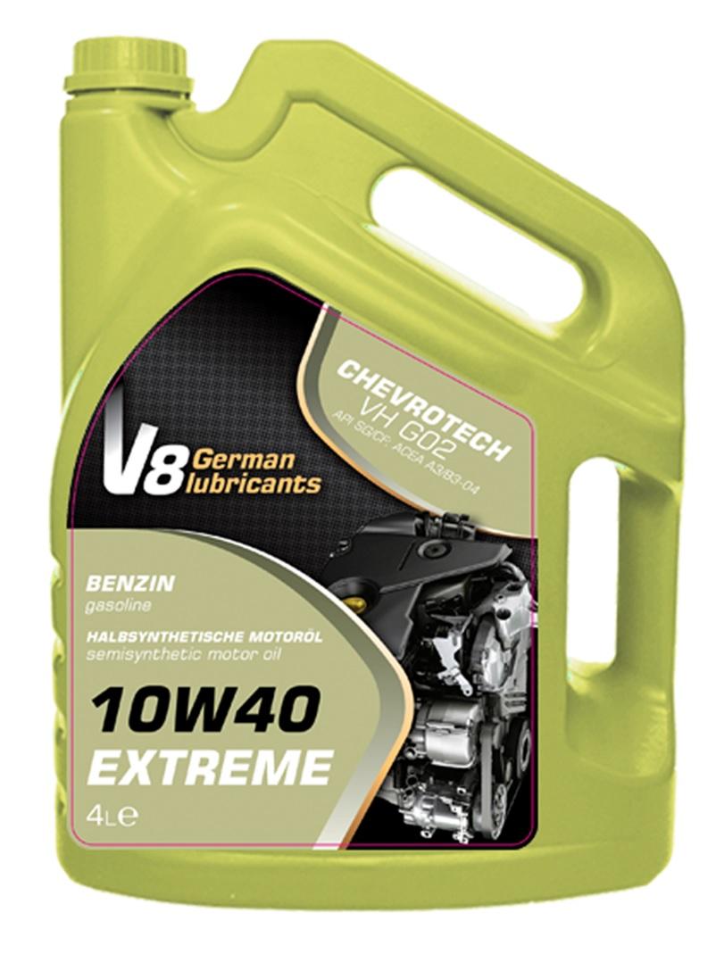 V8 олива 10W40 EXTREME SG/CF 4л