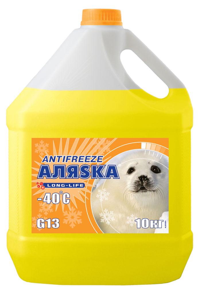 АЛЯСКА Антифриз-40 (жовтий) 10кг.