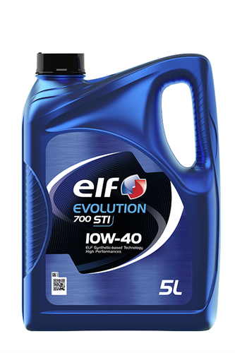 ELF Олива моторна Evolution 700 STI 10w40 5л.