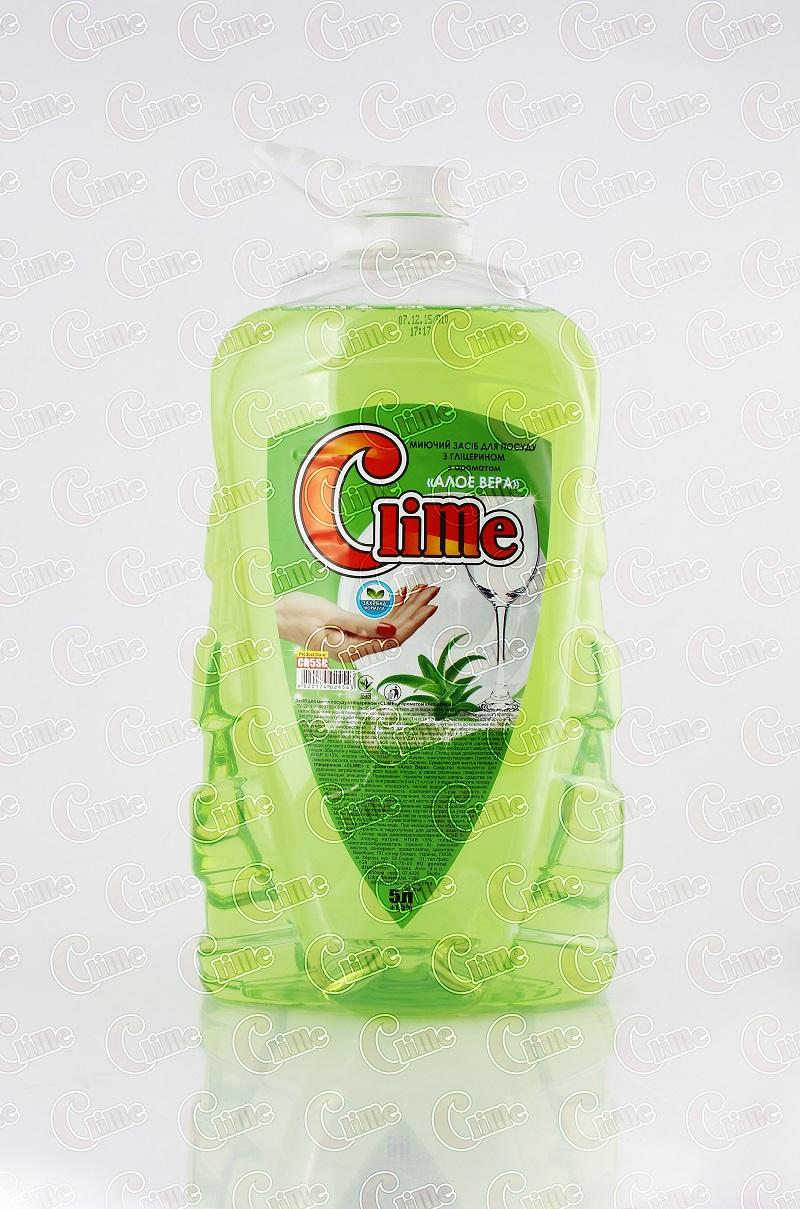 Clime Засіб миючий для посуду 5л Алое CD5SC