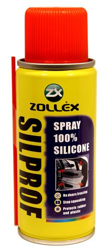 Zollex Силіконовий спрей 100% SILPROF 110мл B-99Z
