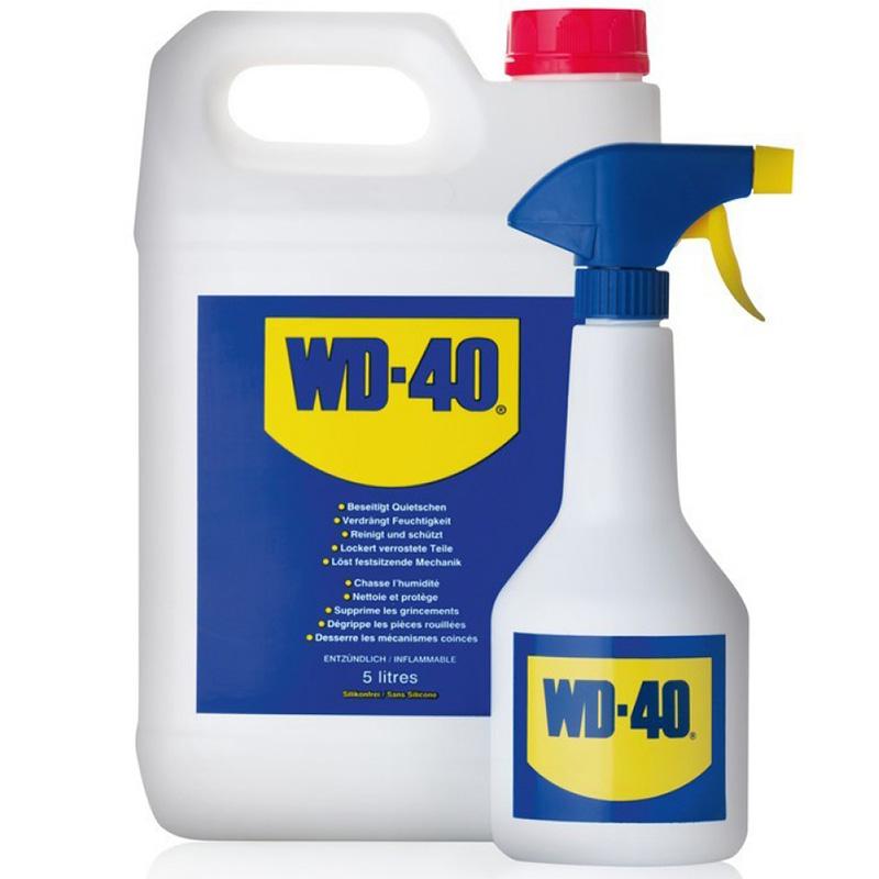 WD-40 5л. каністра+розпилювач