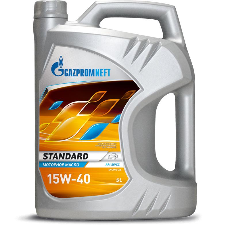 Gazpromneft Олива моторна Standard 15w40 5л API SF/CC