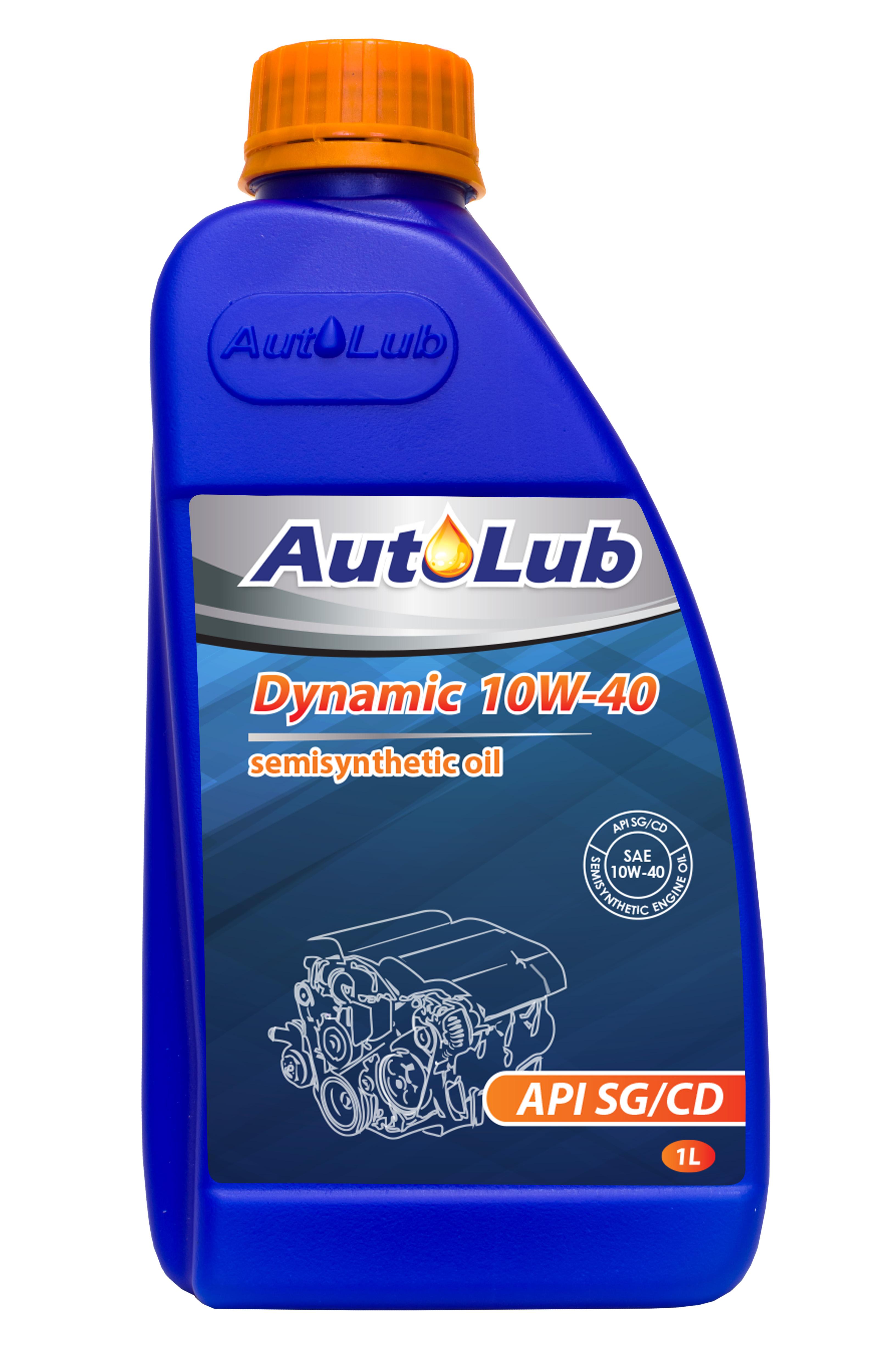 АвтоЛюб олива мот. Dynamic 10W40 SG/CD 1л