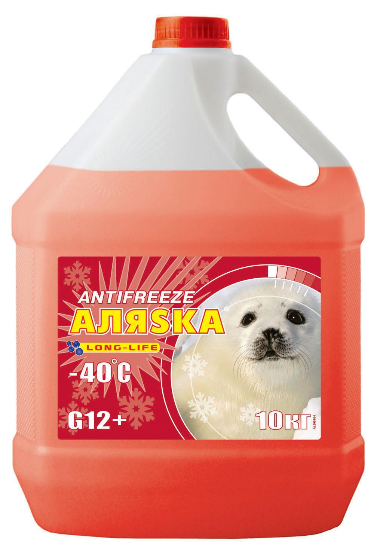 АЛЯСКА Антифриз-40 (червоний) 10кг.