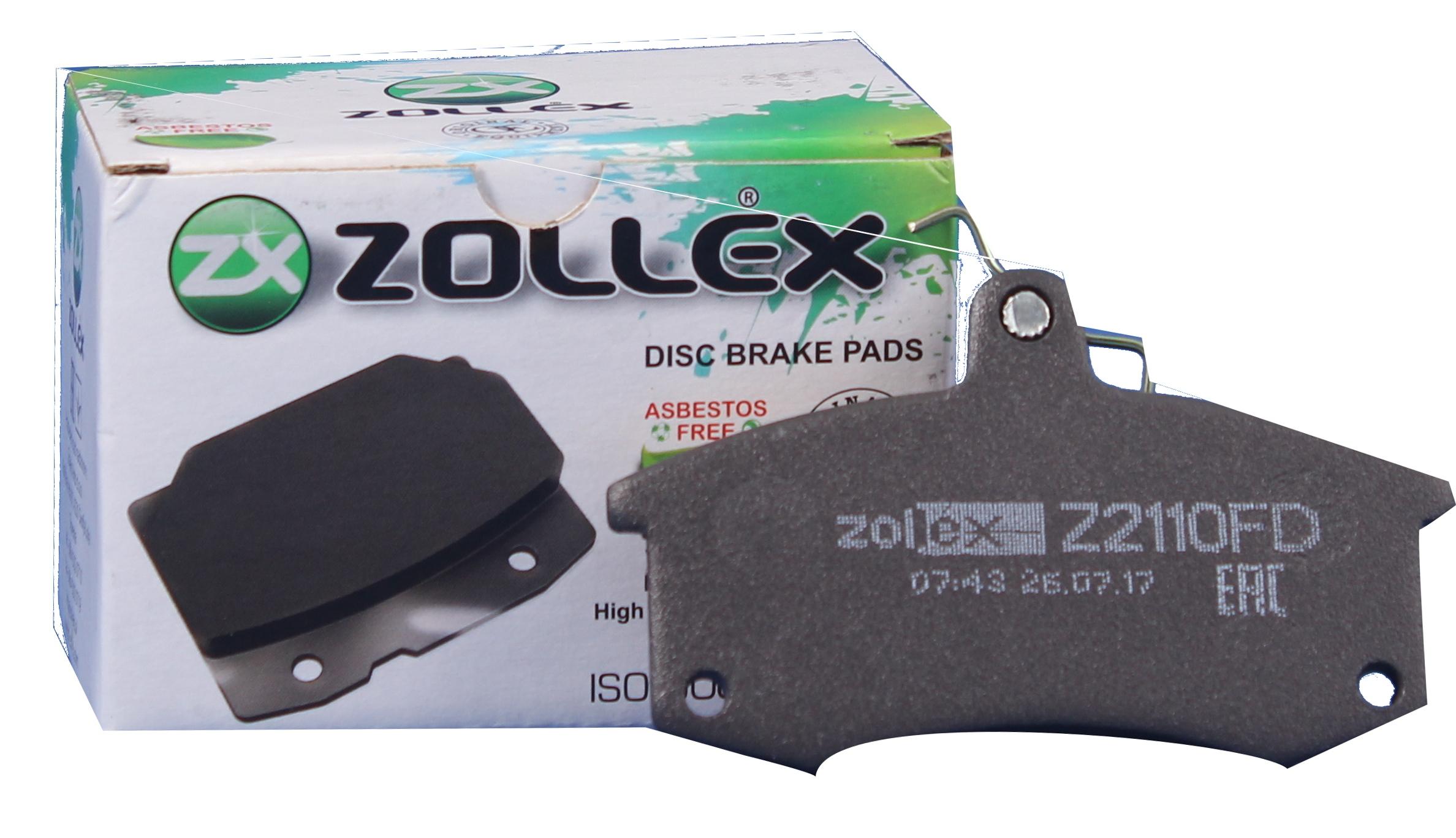 Zollex Гальм. колодки (передн) ВАЗ 2110 Z2110FD