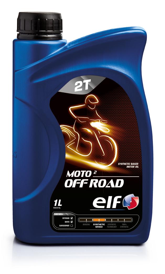 ELF Олива моторна Moto 2T OFF ROAD 1л.