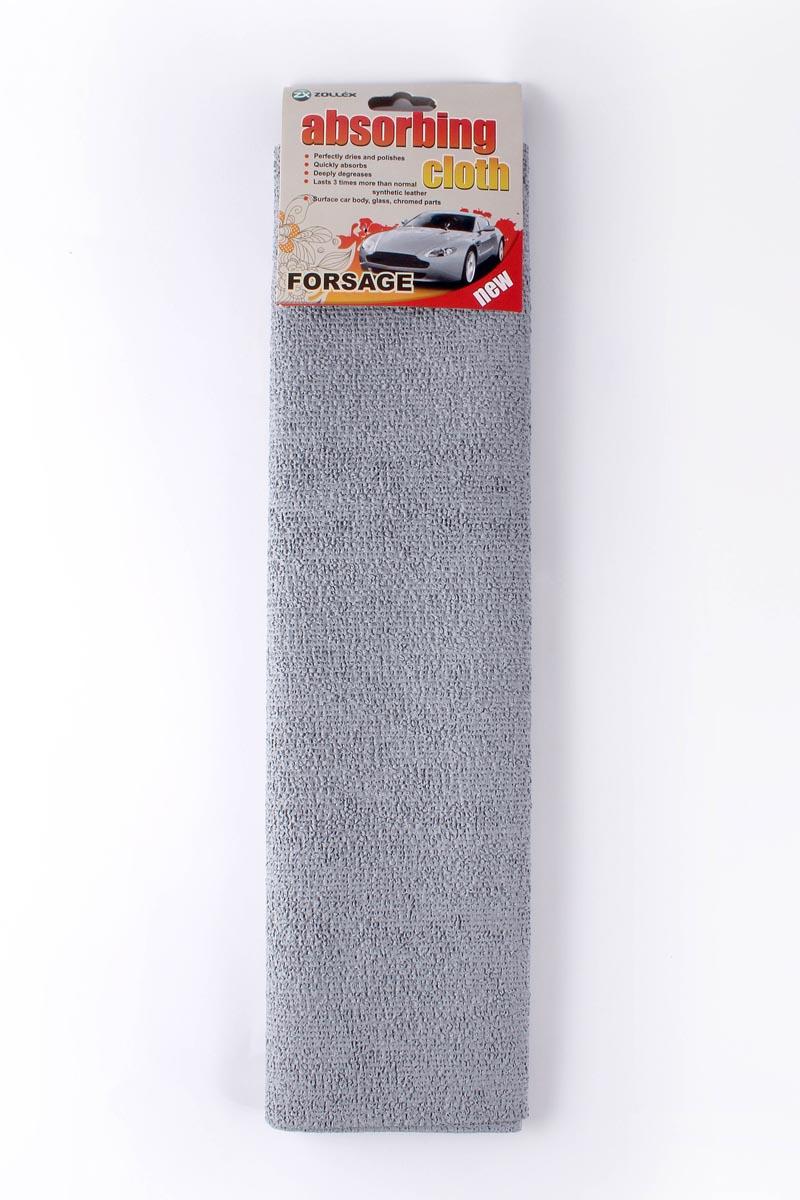 Zollex Серветка впитуюча сiра Форсаж ZP-012