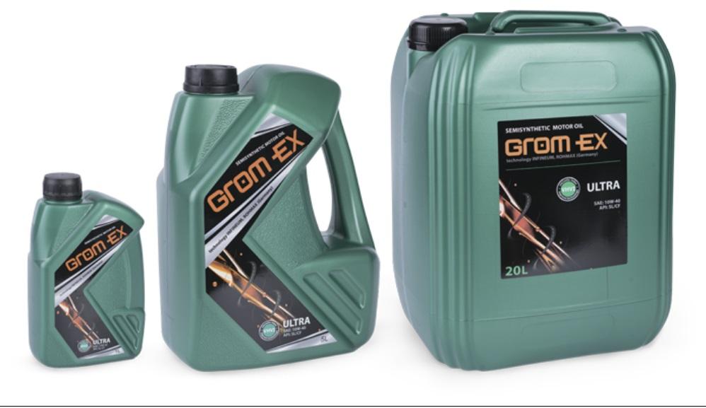 GROM-EX олива 10w40 ULTRON SL 5л.