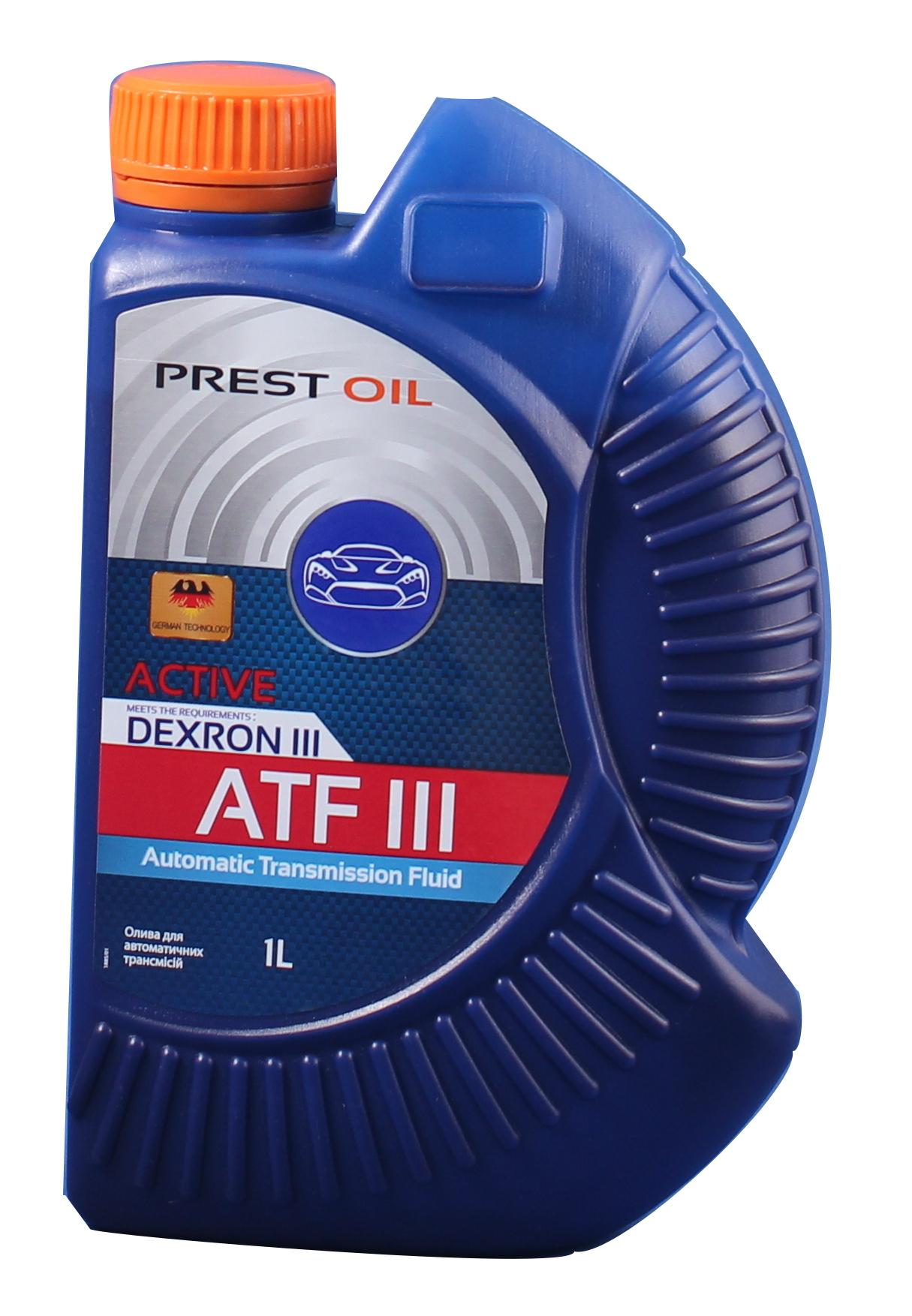 PREST OIL олива трансм. Dexron III 1л