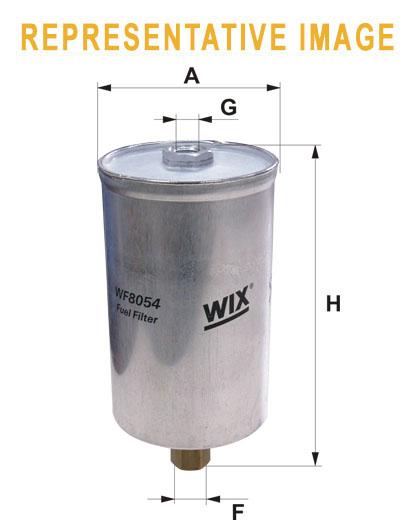 WIX WF8027 Фільтр паливний Filtron PP 825