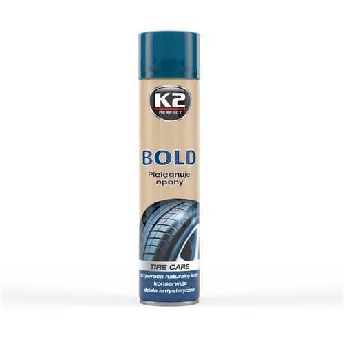 K2 Bold Кондиціонер очиcник шин 600мл (Спрей)