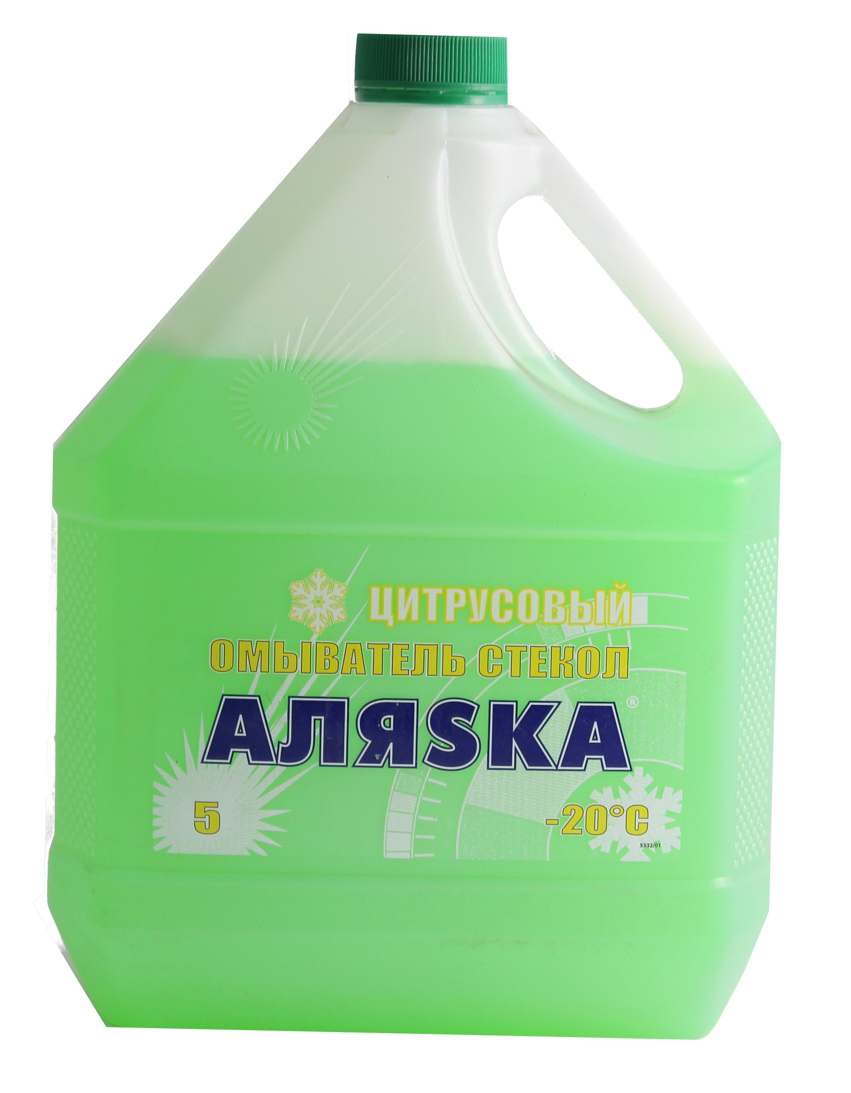 АЛЯСКА Автоочищувач скла-20С Цитрусовий 5 (4,15кг.)