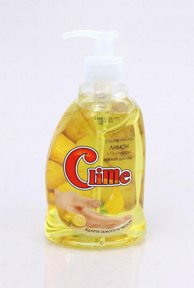 Clime Рідке мило для рук 0,4л Лимон HSLE04 (дозатор)