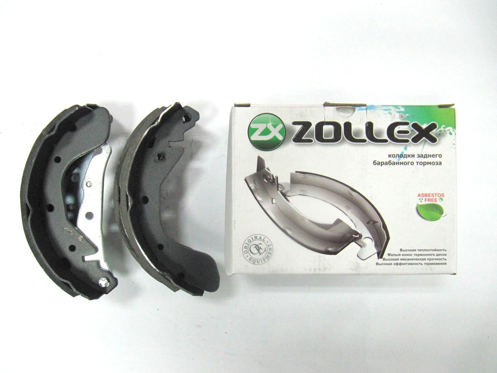 Zollex Гальм. колодки (задні) Lanos Z5000B
