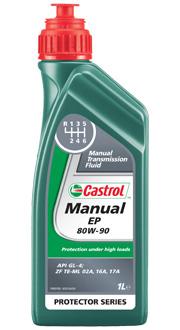 Castrol Олива трансм. Manual EP 80W90 1л. GL-4