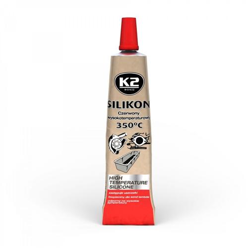 K2 Red sil Червоний силікон. герметик 21гр.
