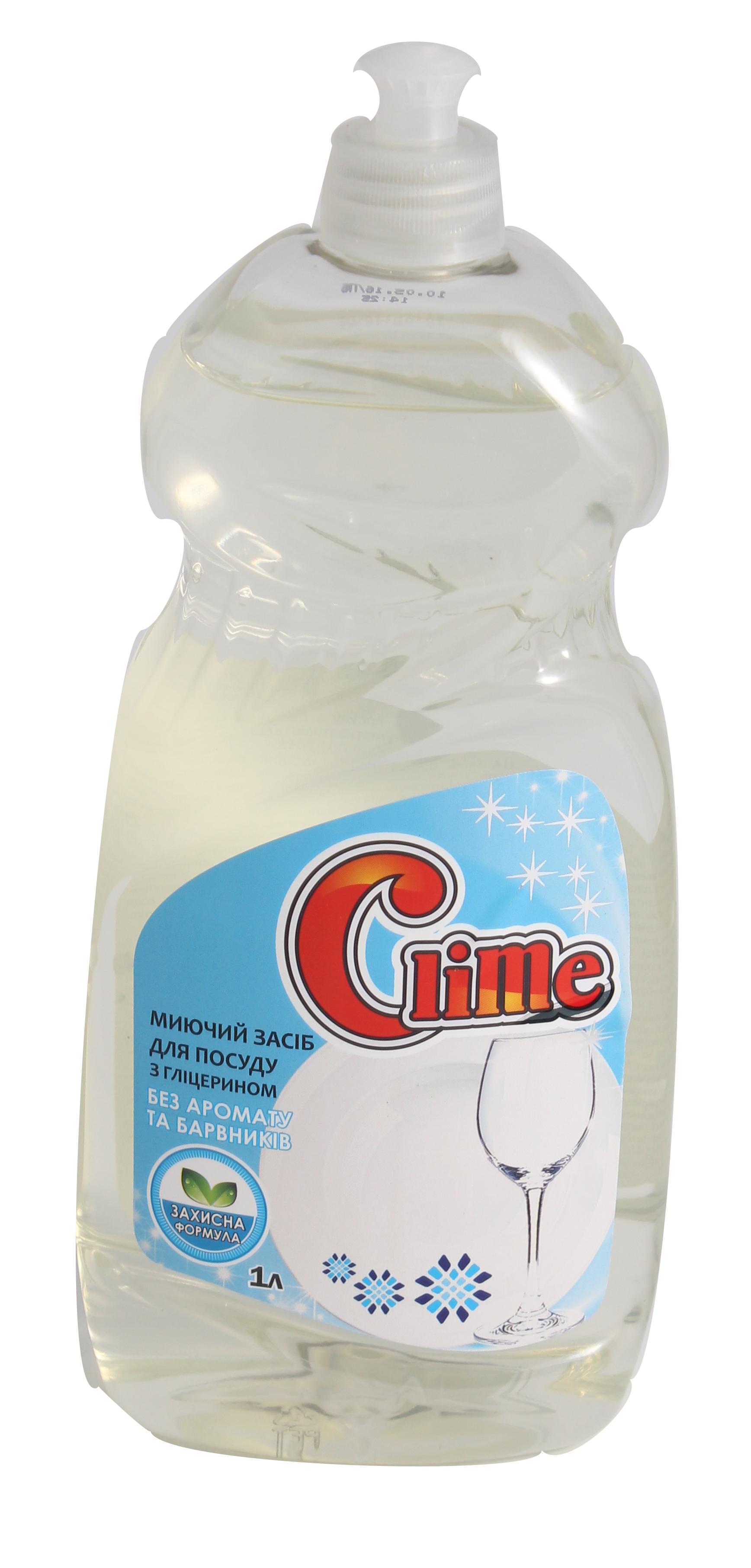 Clime Засіб миюч. для посуду 1л без аром і барв.CD1FFпуш-пул