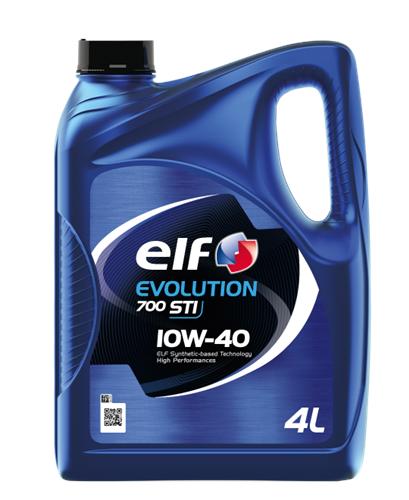 ELF Олива моторна Evolution 700 STI 10w40 4л.