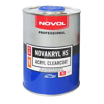 NOVOL Лак акриловий NOVAKRYL HS 2+1 1л. 38043(8011)