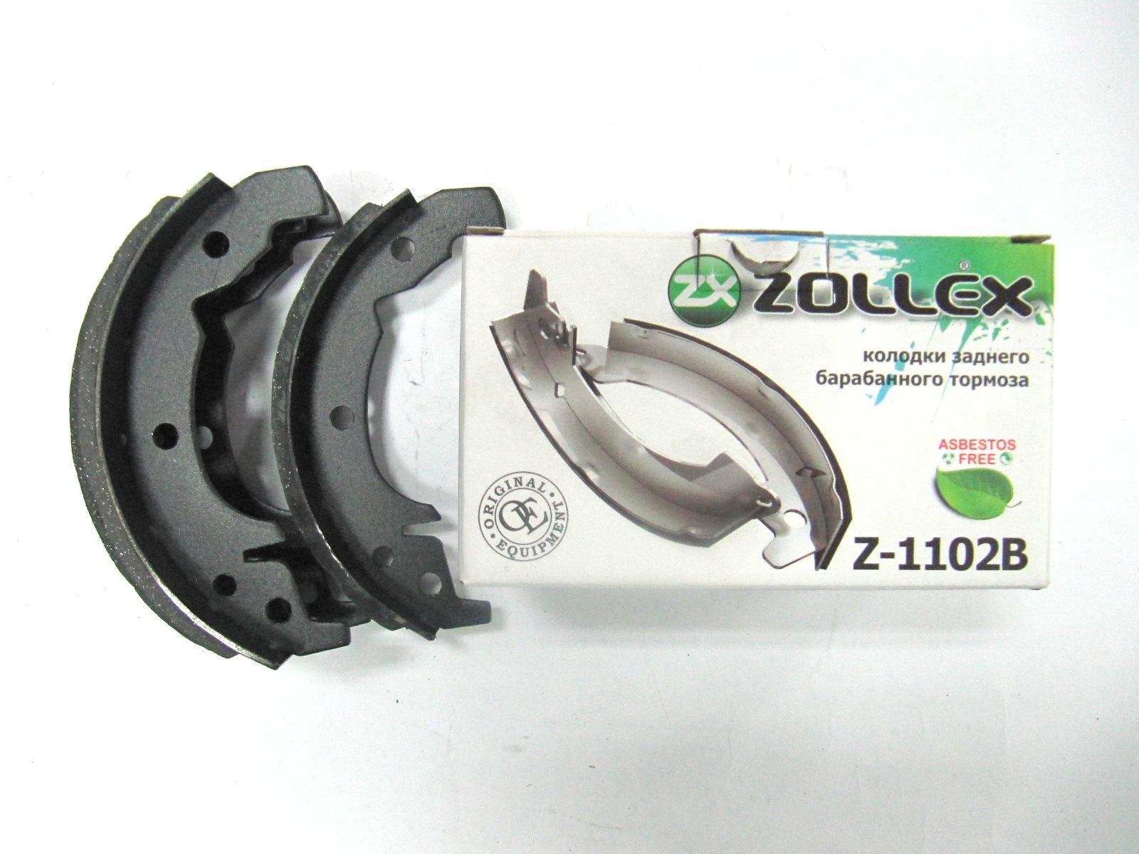 Zollex Гальм. колодки (задні) ЗАЗ 1102 Z1102B
