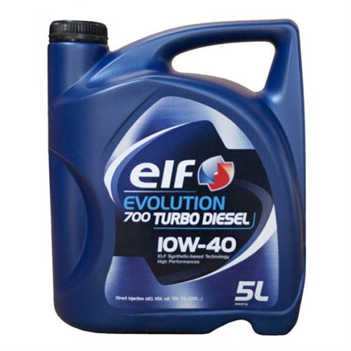ELF Олива моторна Evolution 700 Turbo Dies. 10w40 4л.