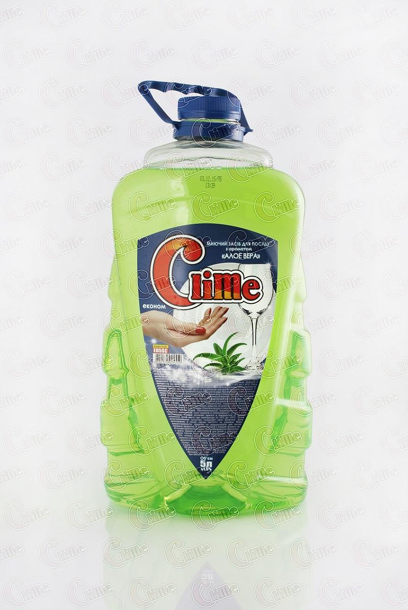 Clime Засіб економ миючий для посуду 5л Алое ED5SC