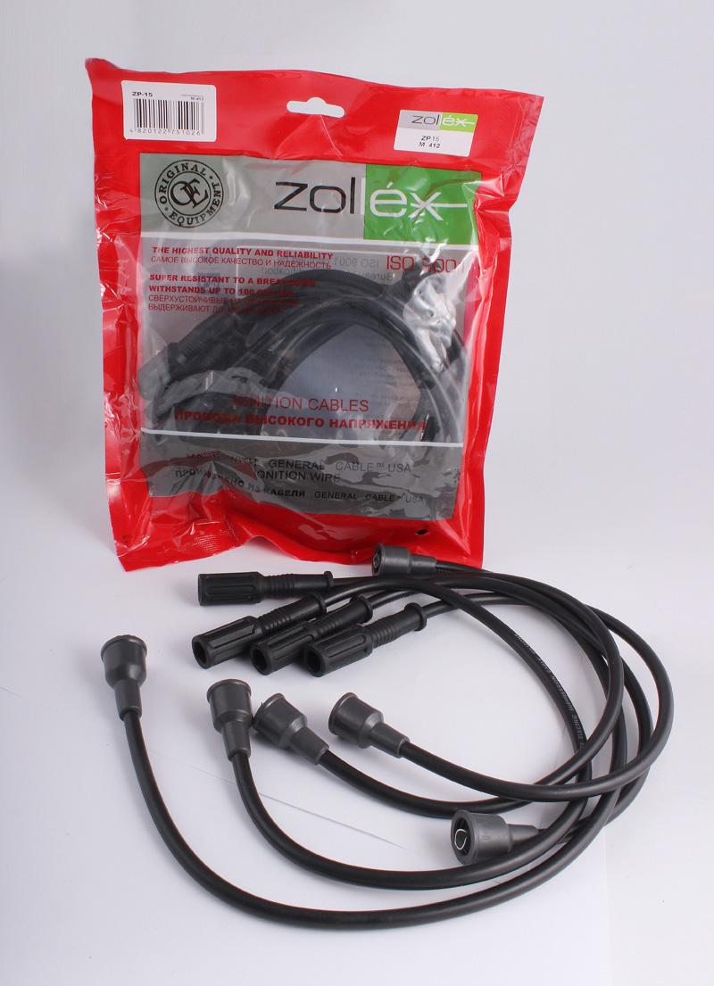 Zollex Компл. проводів запалюв. М-412 (ZP-15)