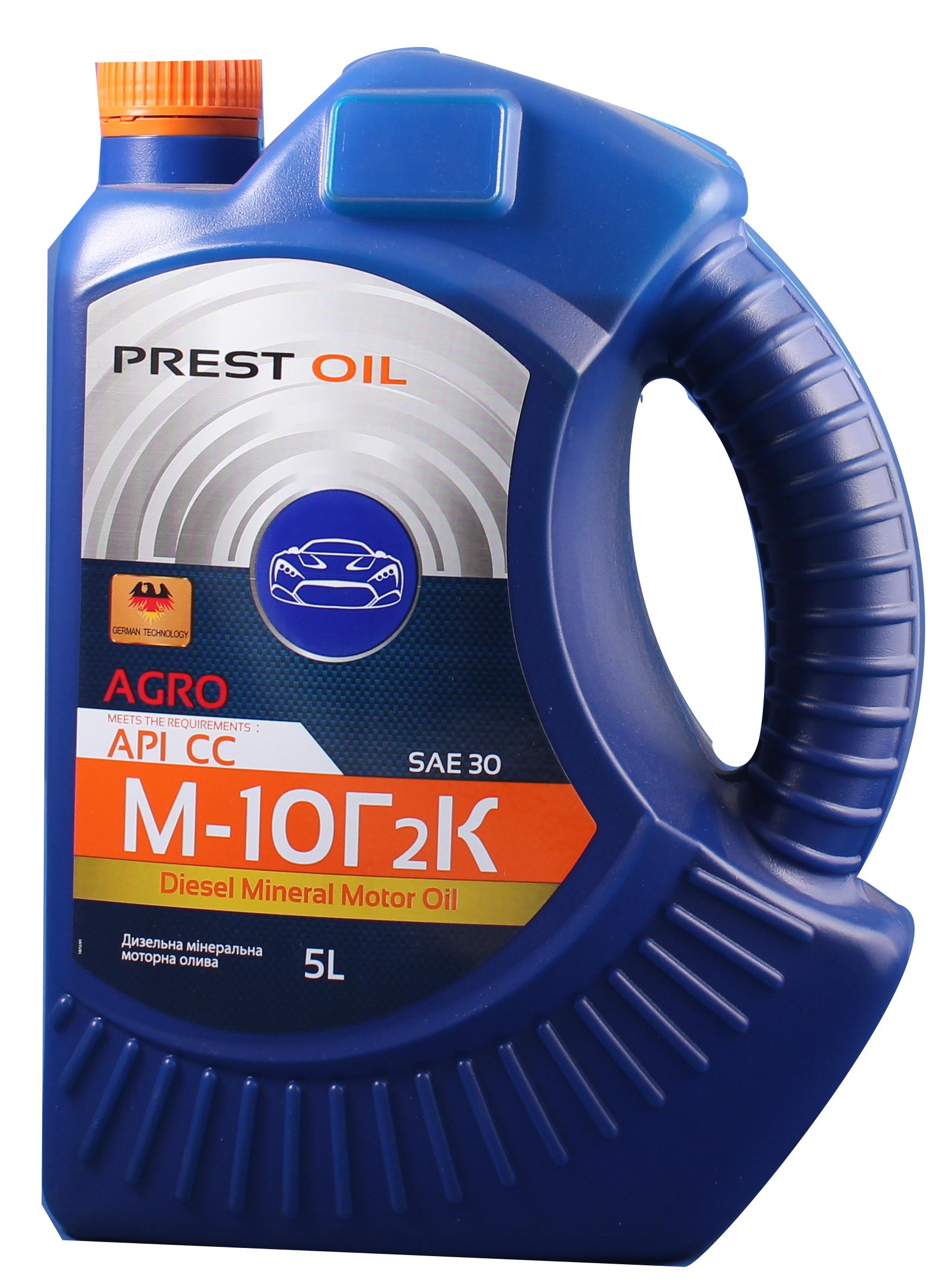 PREST OIL олива М10Г2К 5л