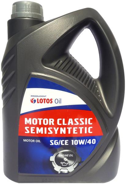 LOTOS Олива Classiс Motor SemiSynt 10w40 5л API SG/CE