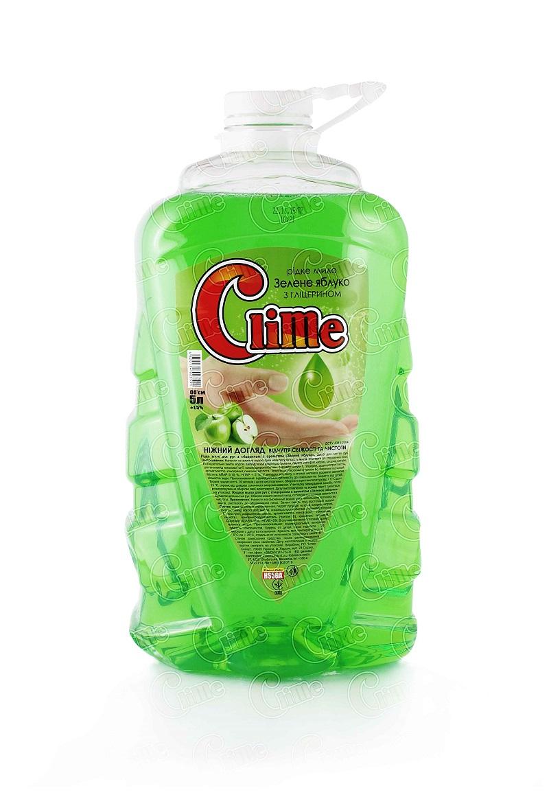 Clime Рідке мило для рук з гліц. 5л Зелене яблуко HS5GA