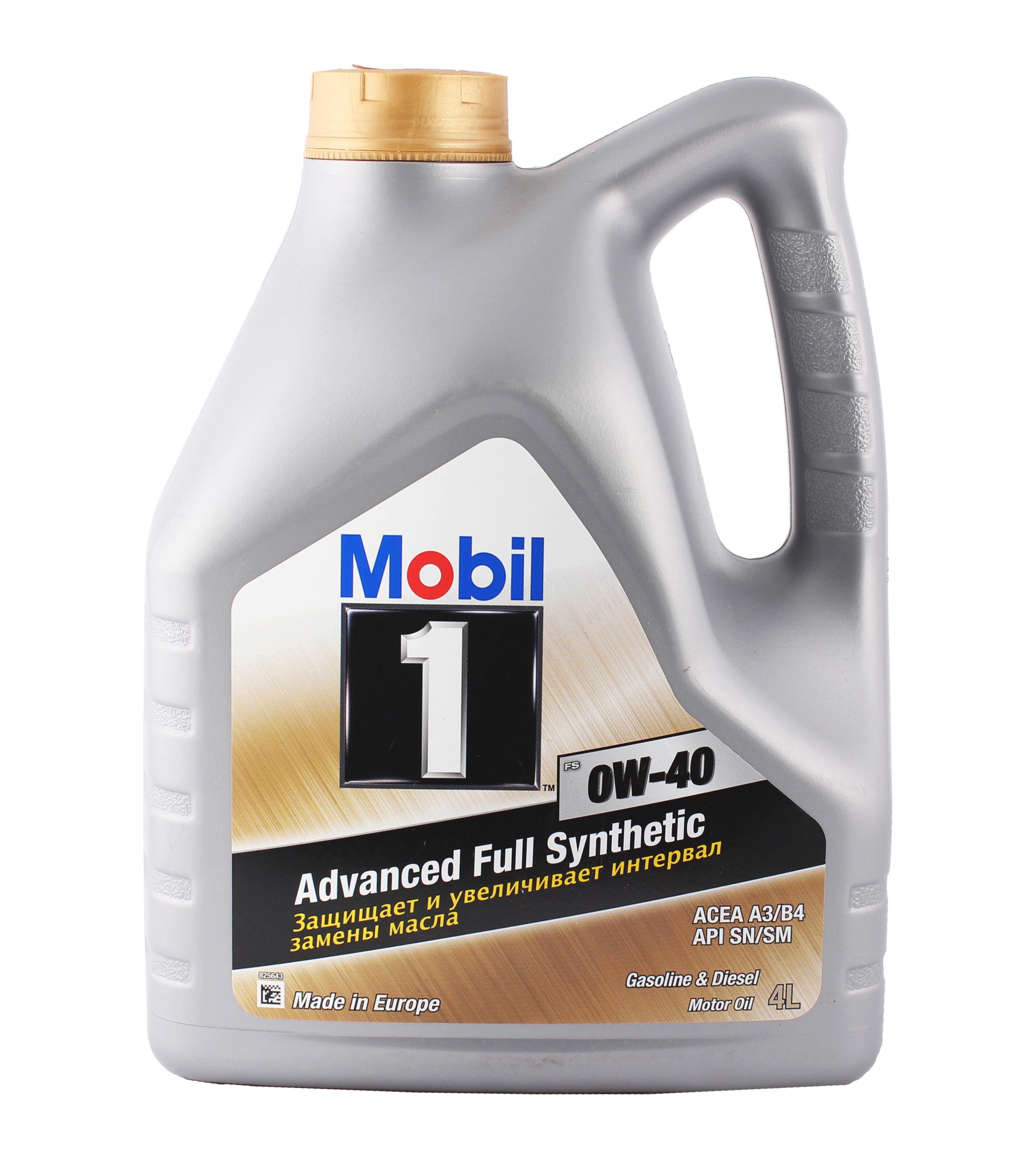 Mobil Олива мот. 1 FS 0w40 4л.