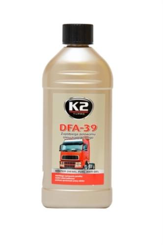 K2 DFA-39 Aнтигель для диз. палива 500мл.