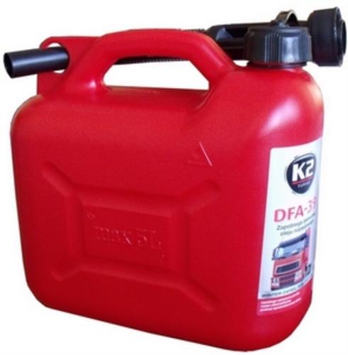 K2 DFA-39 Aнтигель для диз. палива 5л.