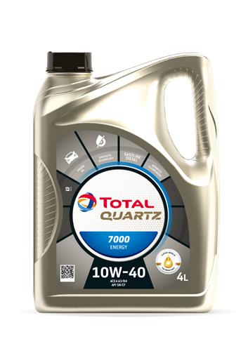 TOTAL Олива мот. QUARTZ 7000 ENERGY 10W40 4л SL/CF