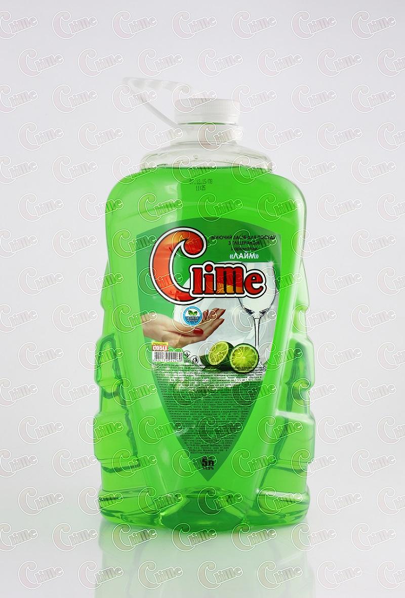 Clime Засіб миючий для посуду 5л Лайм CD5LE