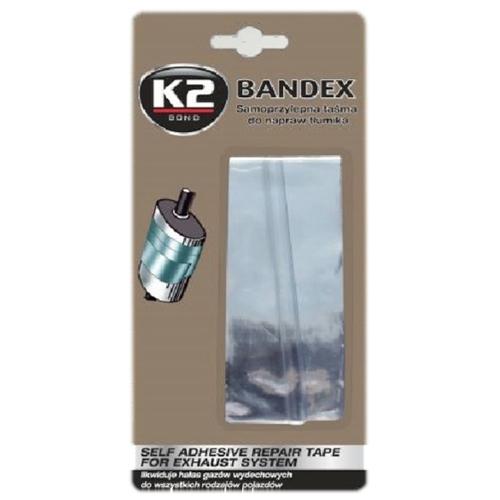 K2 Bandex Високотемпер стрічка для ремонту глушника