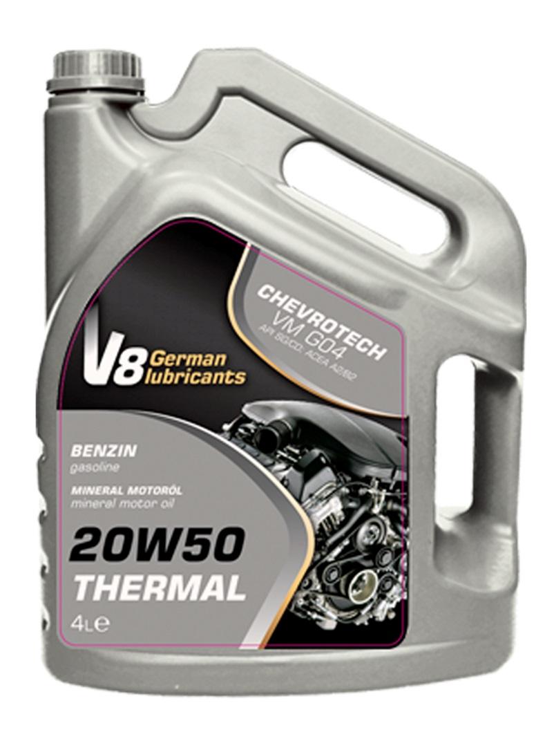 V8 олива 20W50 THERMAL SG/CD 4л