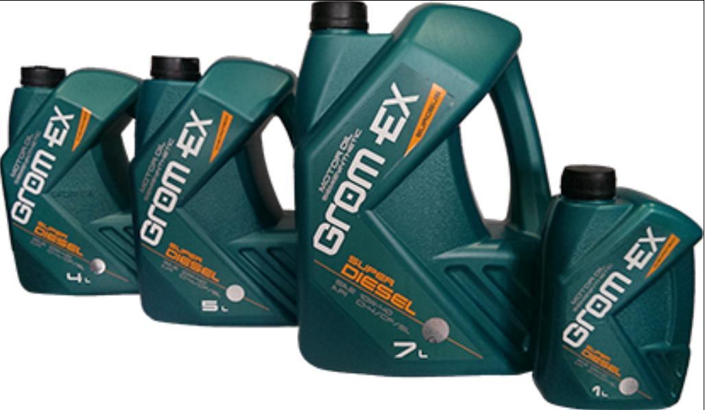 GROM-EX олива 10w40 Super Diesel 5л