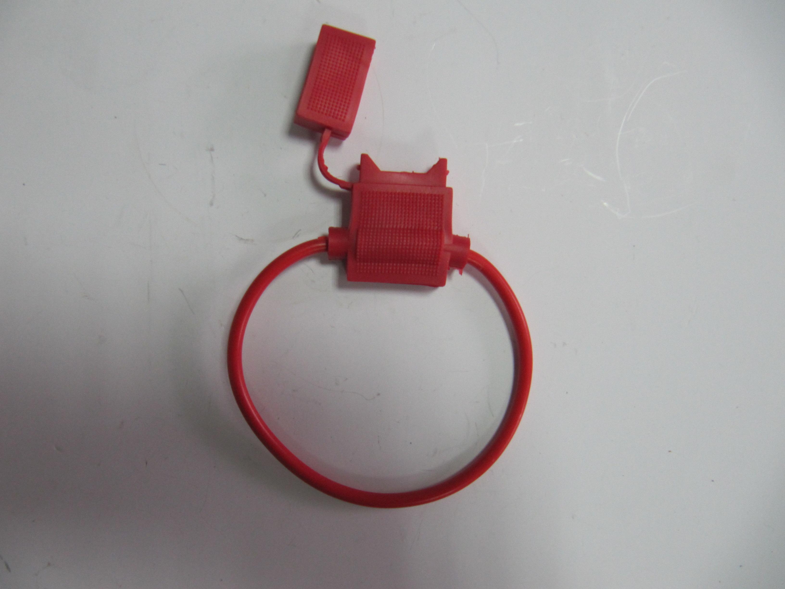 Колодка запобіжника червона