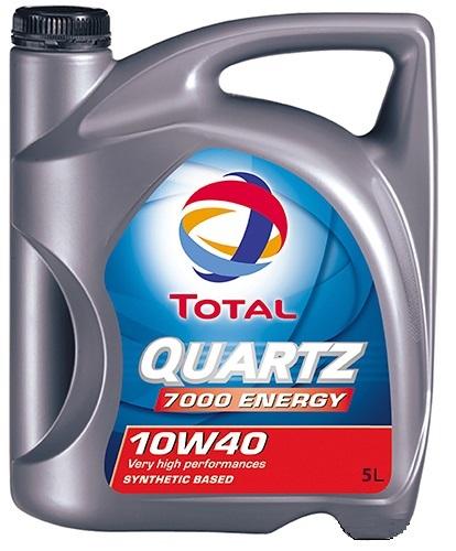 TOTAL Олива мот. QUARTZ 7000 ENERGY 10W40 5л SL/CF